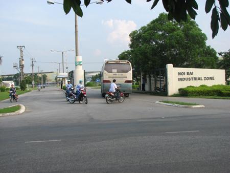 lap-dat-camera-giam-sat-tai-khu-cong-nghiep-noi-bai