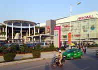 Lắp đặt camera an ninh tại khu TTTM Aeon Mall Long Biên