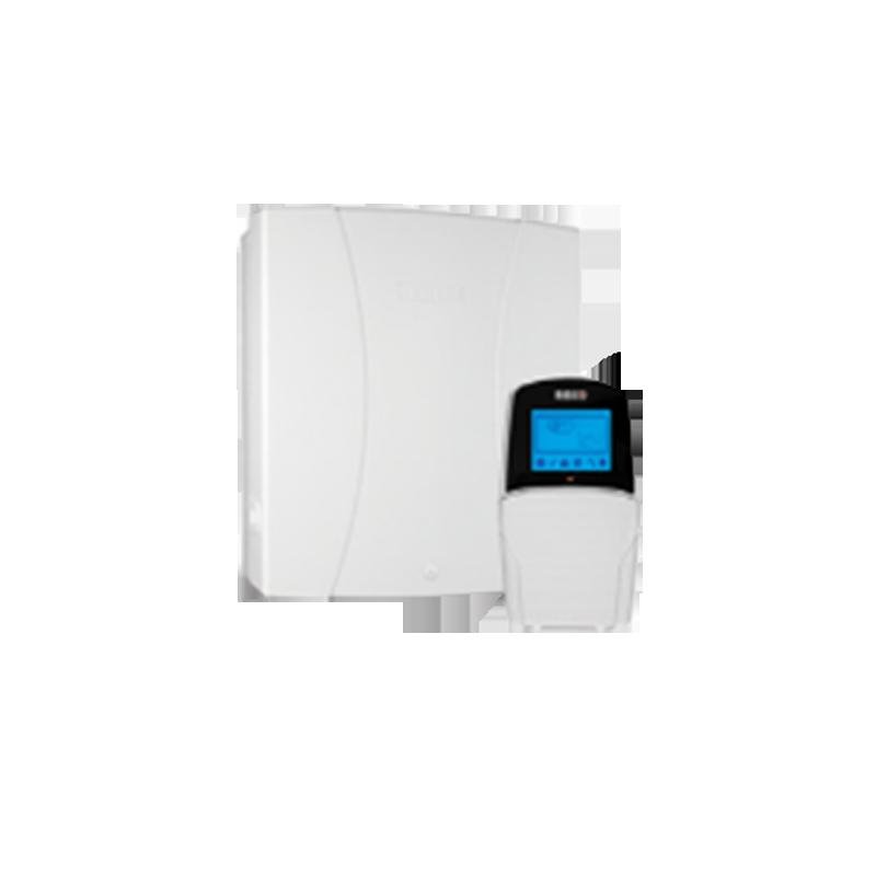 Trung tâm báo động LightSYS 8 Zone có dây bàn phím LCD + 8 vùng có dây, báo ra 3 số điện thoại ( Tăng lên 16 số nếu dùng thêm Module voice). + Bật tắt bằng bàn phím ( Thêm tính năng bật tắt từ phần mềm cài trên điện thoại di động nếu lắp thêm Module IP). + Có 4 rơ le có thể lập trình để bật tắt 4 thiết bị khác nhau.