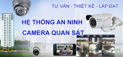 Lắp đặt trọn bộ camera quan sát tại Vĩnh Phúc